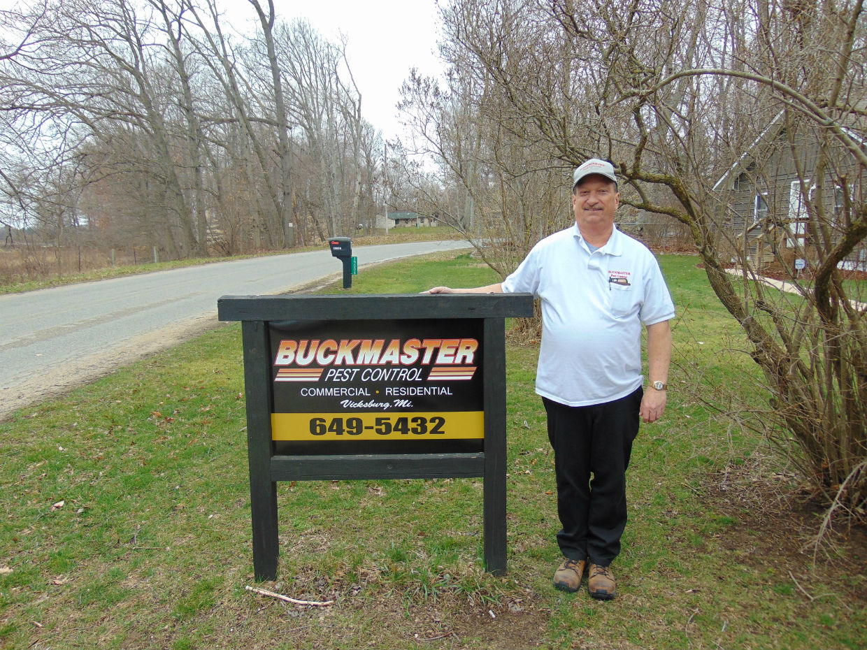 Buckmaster Pest Control is your first line of pest defense